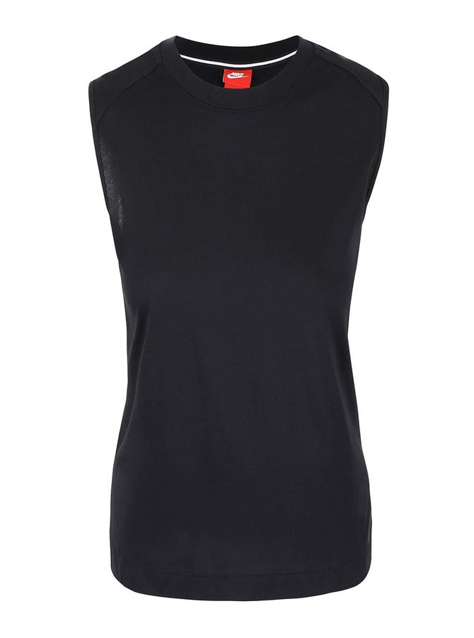 Černý dámský top Nike Tank Bnd