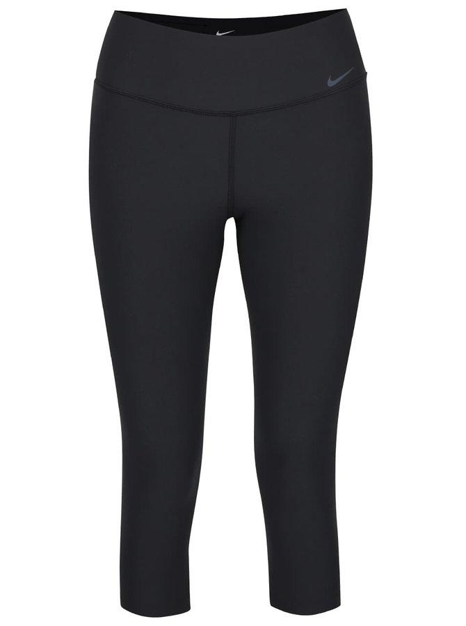 Čierne dámske 3/4 legíny Nike Legend