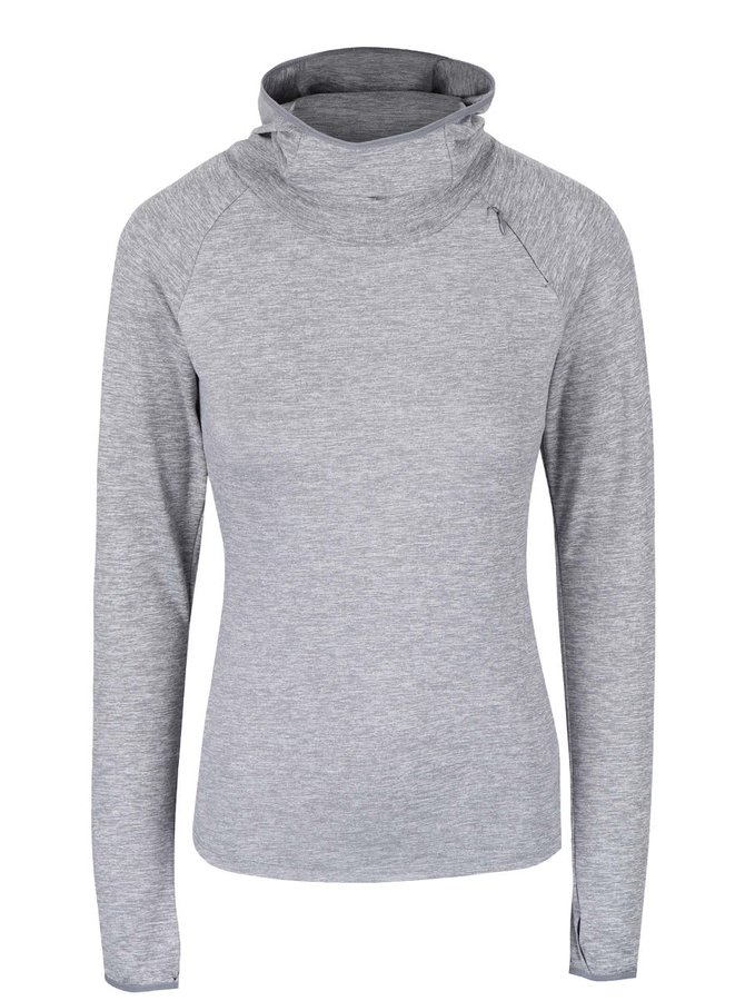Sivá dámska mikina Nike Dry Element
