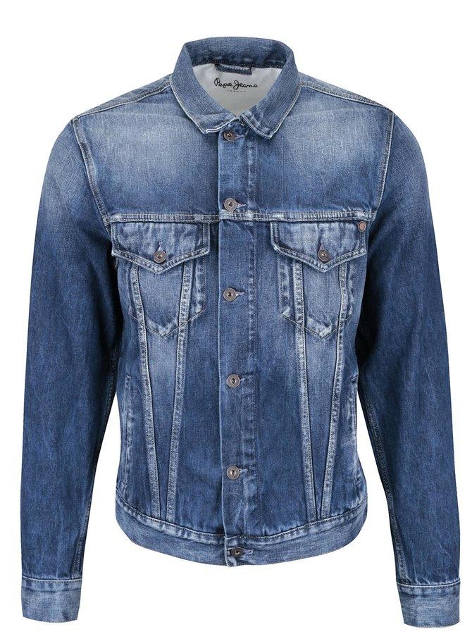 Jachetă din denim Pepe Jeans Pinner