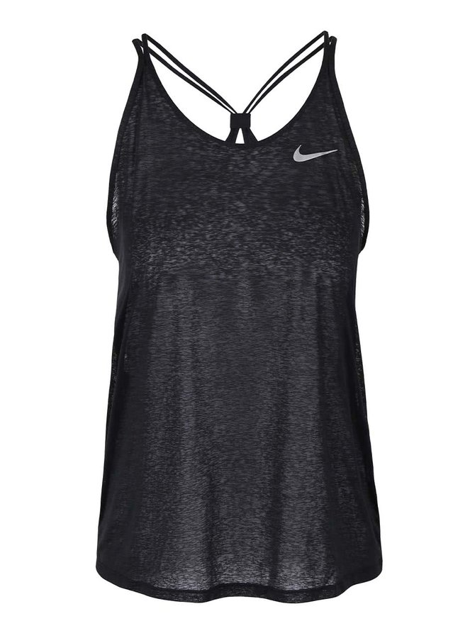Top negru subțire Nike Dri-Fit Cool