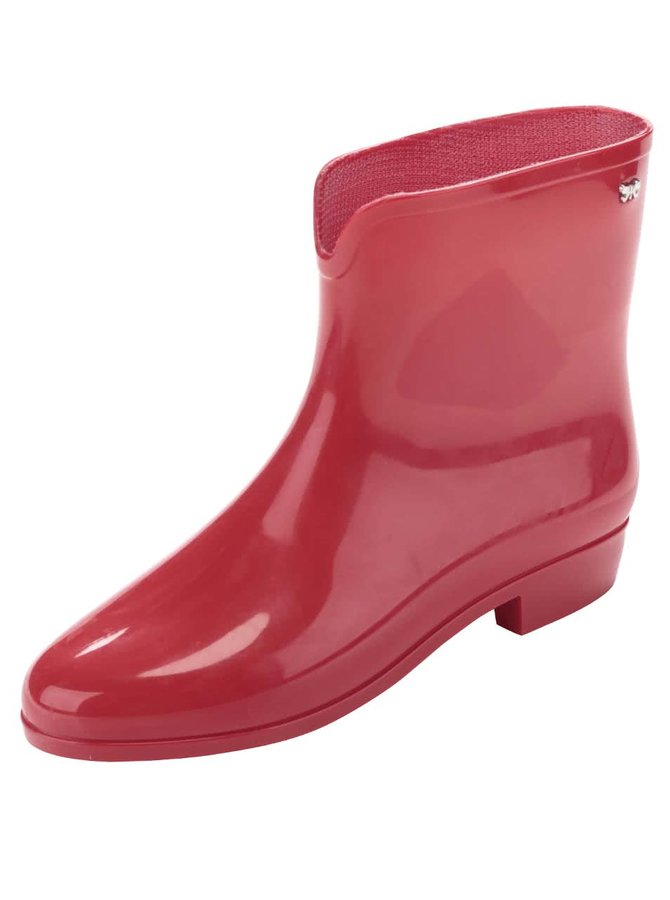 Červené gumáky Zaxy Boot II