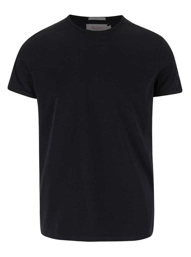 Černé pánské triko Pepe Jeans Original basic