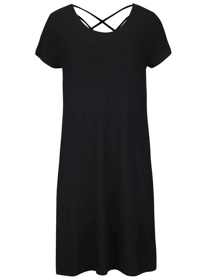 Čierne šaty ONLY Bera