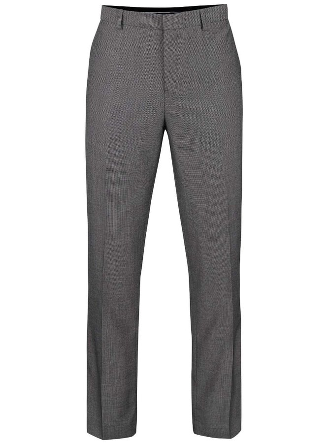 Pantaloni gri formal fit Burton Menswear London