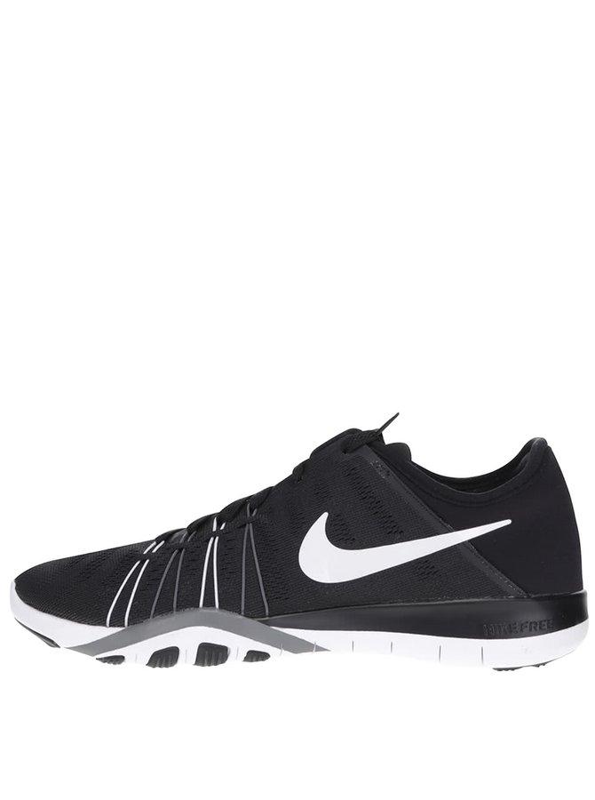 Černo-bílé dámské tenisky Nike Free 6