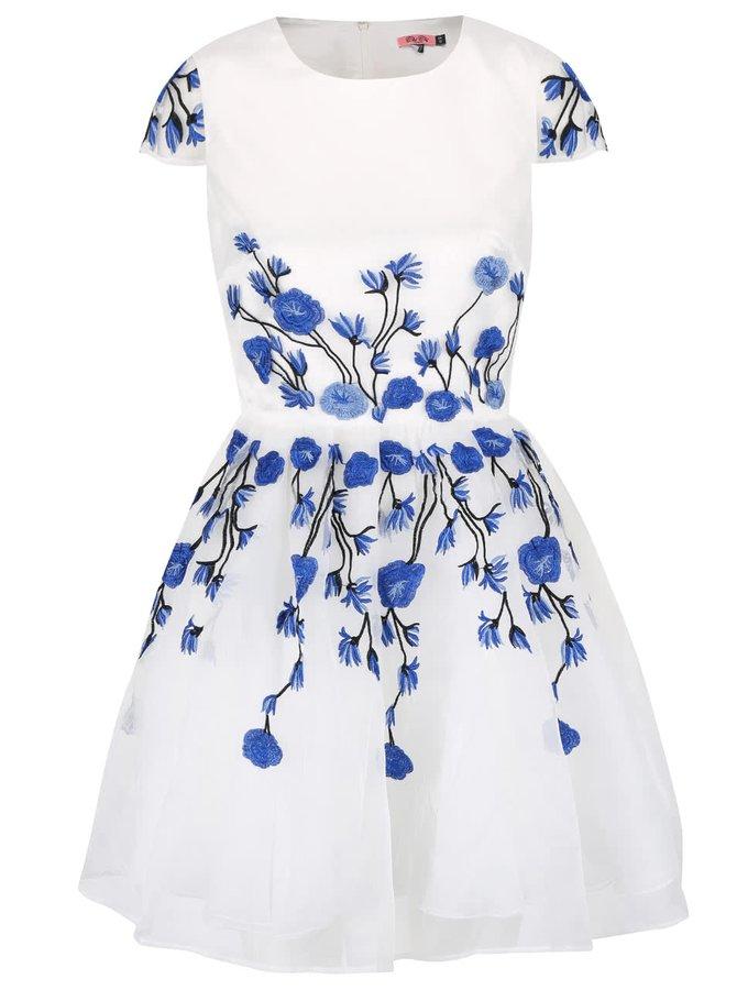 Rochie albă cu imprimeu Chi Chi London Taylor