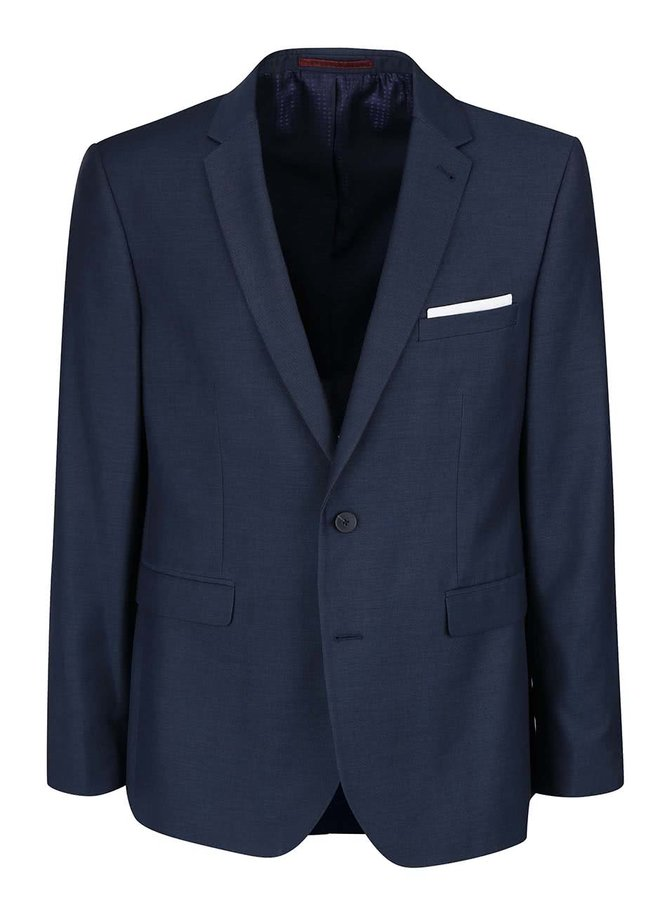 Sacou bleumarin slim fit Burton Menswear London