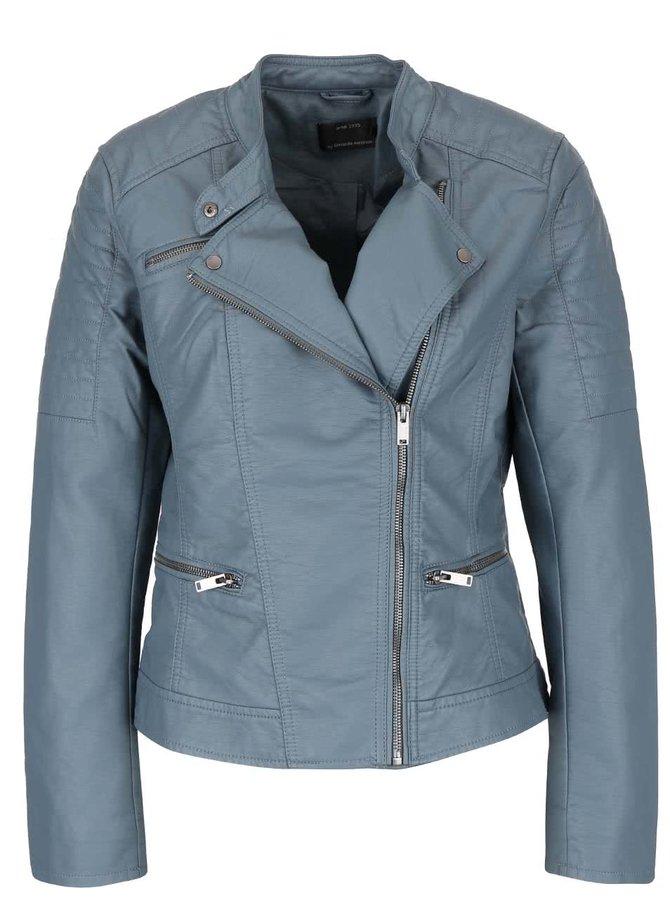 Jachetă albastră ONLY New Start din piele sintetică