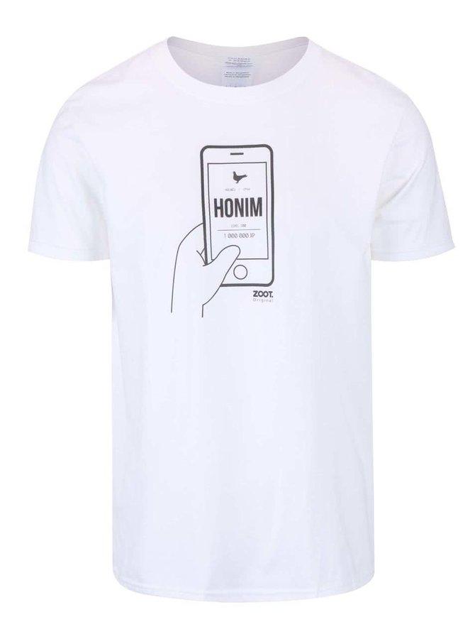 Biele pánske tričko ZOOT Originál Honím