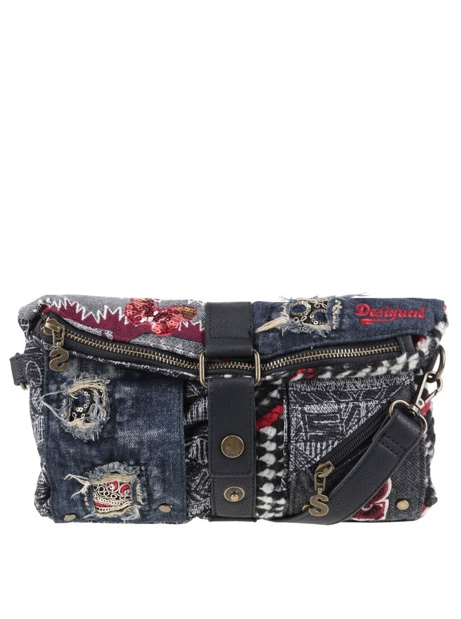 Geantă crossbody multicoloră Desigual Norway cu model