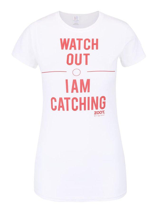 Biele dámske tričko ZOOT Originál Watch Out