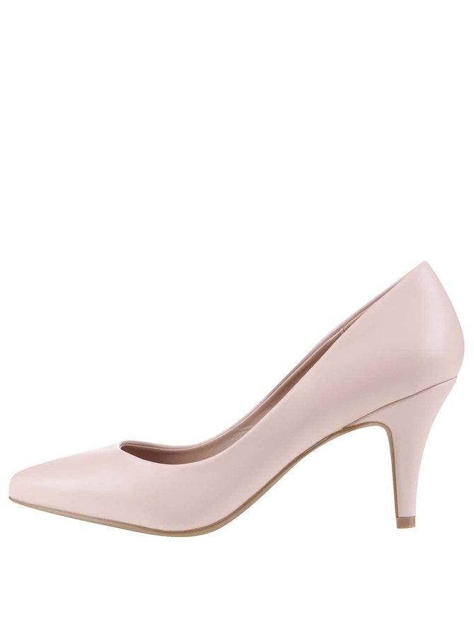 Pantofi cu vârf ascuțit Dorothy Perkins roz pudrat