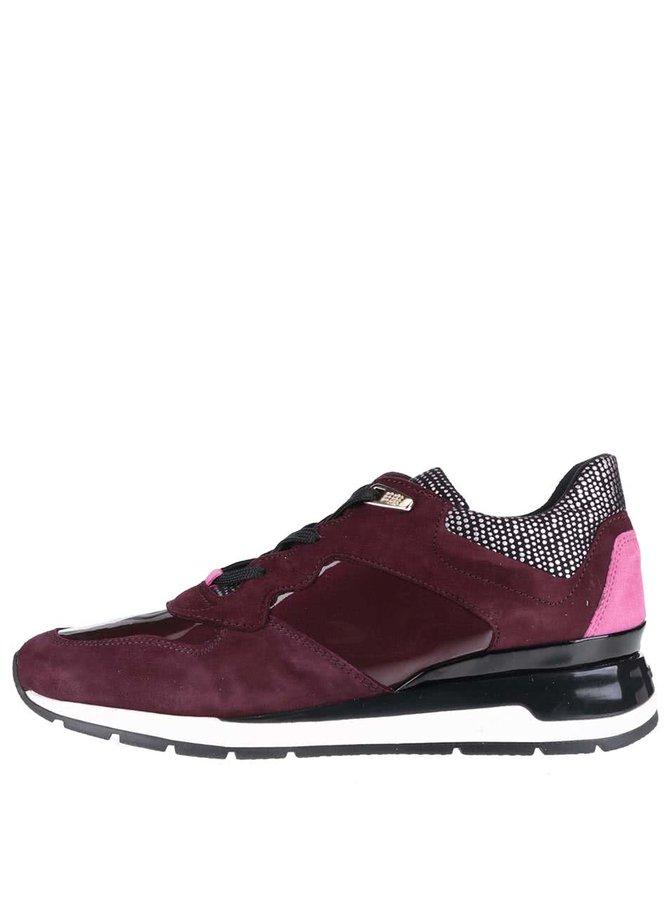Pantofi sport Geox Shahira vișiniu