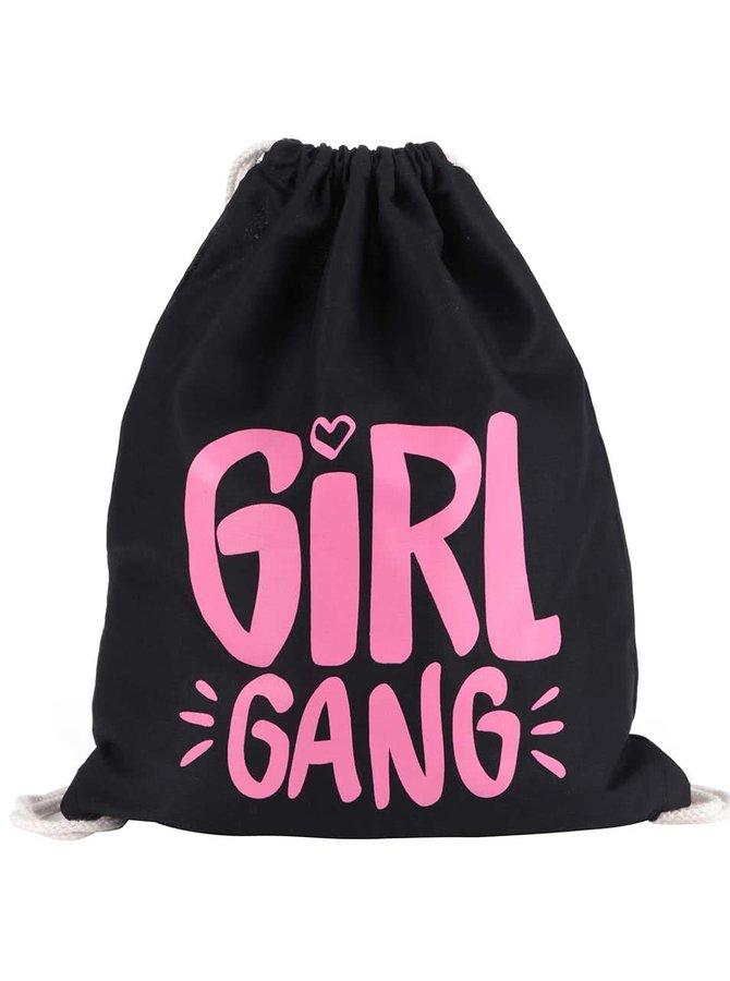Čierny vak ZOOT Originál Girl Gang