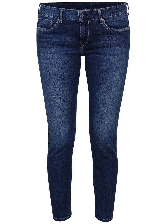 Modré dámske slim fit rifle Pepe Jeans Soho