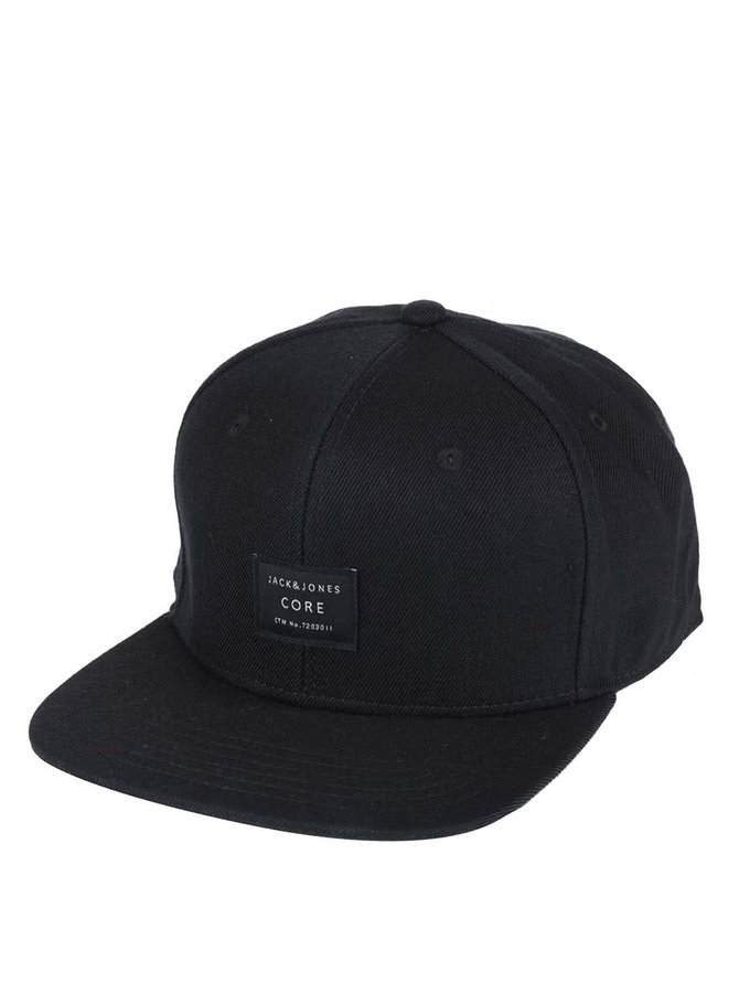Șapcă neagră Jack & Jones Basic