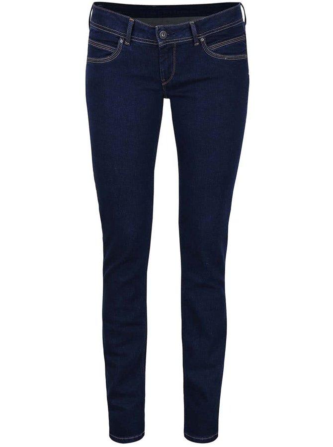 Modré dámske slim fit rifle Pepe Jeans Ariel