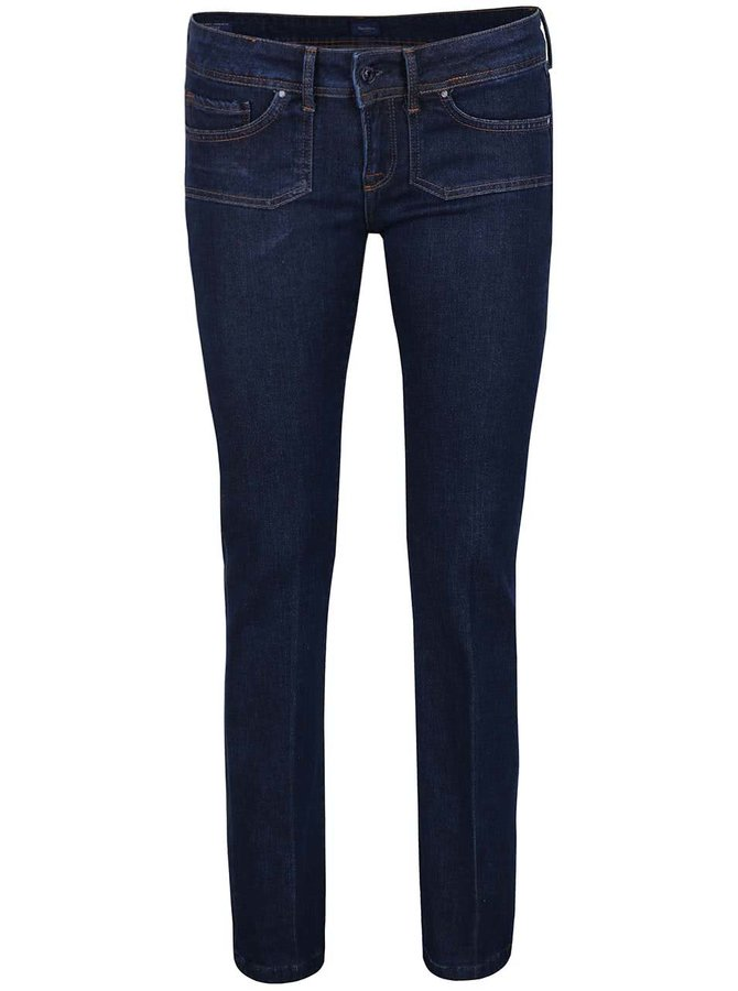 Blugi bleumarin bootcut Pepe Jeans Mojo