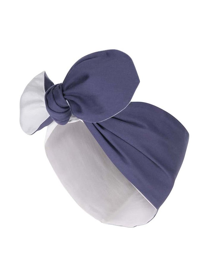 Bentiță albastru cu alb Dolly & Dotty Rockabilly