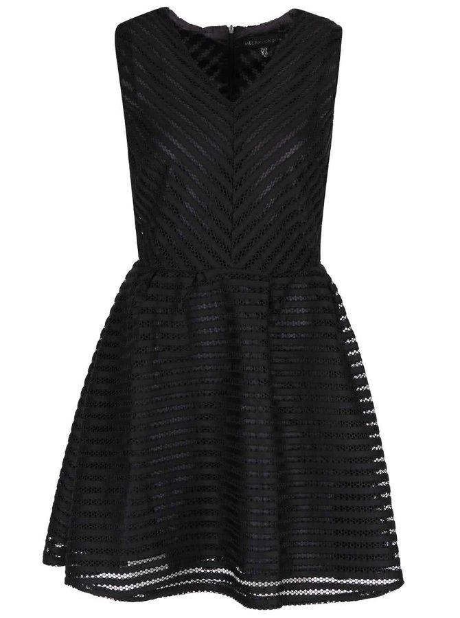 Rochie neagră Mela London
