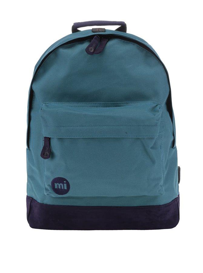 Zeleno-fialový unisex batoh Mi-Pac Classic 17 l