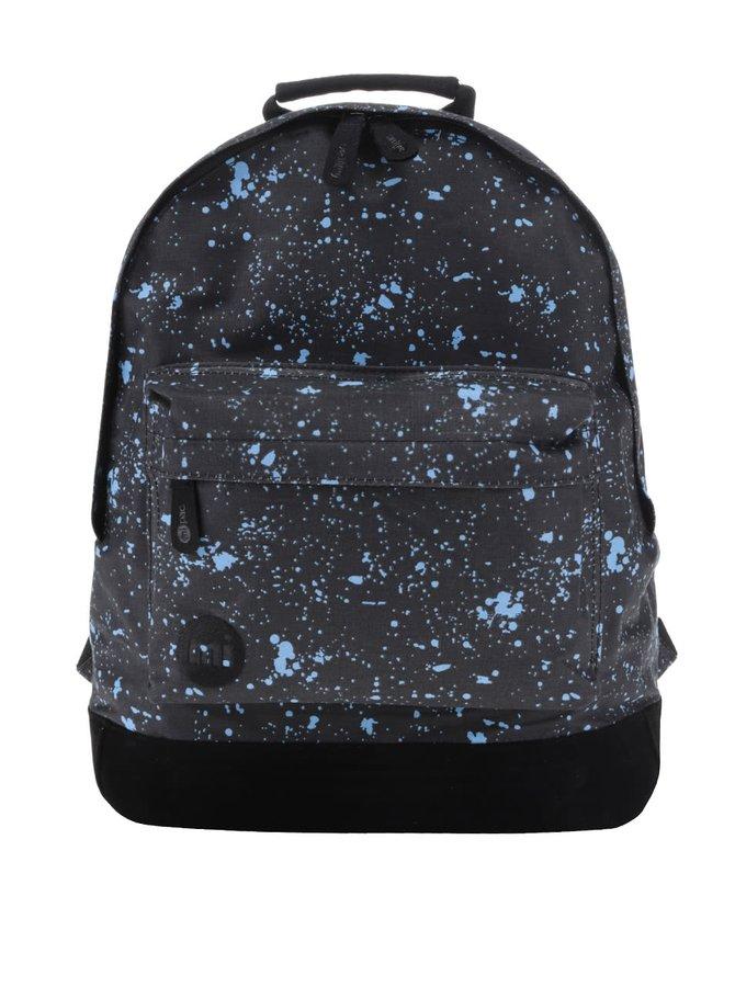 Černý unisex batoh s modrým vzorem Mi-Pac Denim Spot