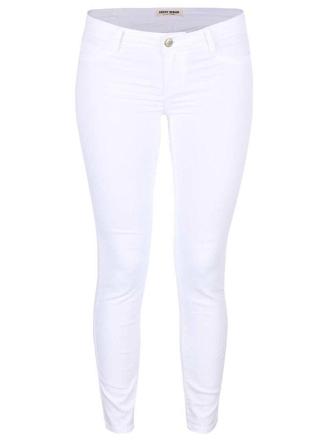 Bílé skinny džíny TALLY WEiJL