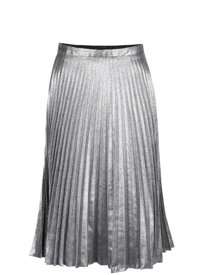 Plisovaná sukňa v trblietavej farbe Miss Selfridge