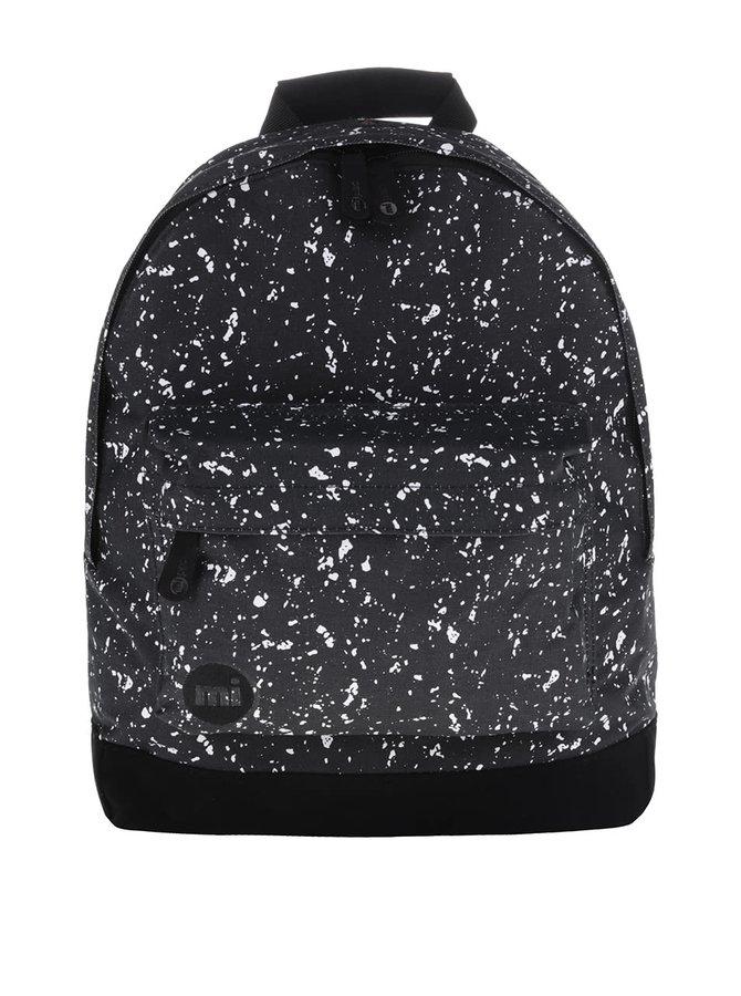 Čierny batoh s bielym vzorom Mi-Pac Denim Spot