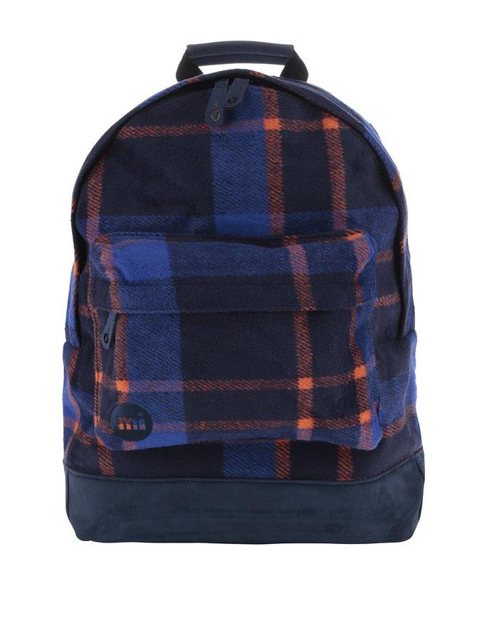 Oranžovo-modrý dámský batoh Mi-Pac Picnic Check 17 l