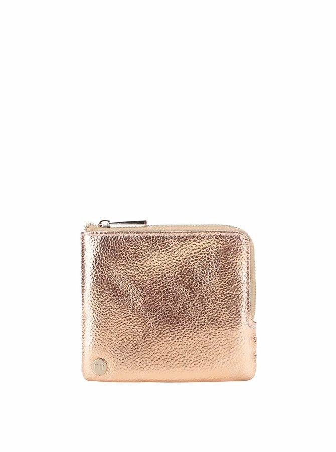 Lesklá peňaženka v ružovej farbe Mi-Pac Coin Holder