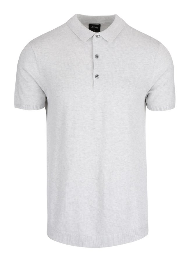 Tricou polo Burton Menswear London gri
