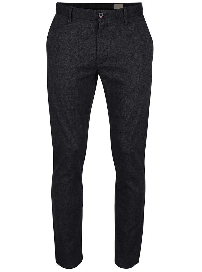 Pantaloni slim fit gri închis Selected Homme Harval