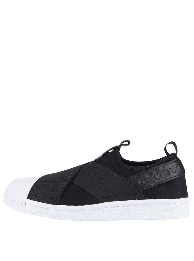 Pantofi sport alb cu negru Adidas Originals Superstar de damă