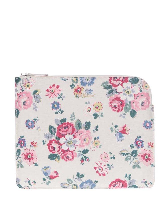 Krémové kvetované puzdro na tablet Cath Kidston
