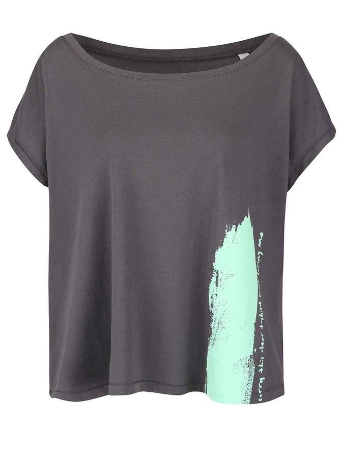 Tricou gri lejer ZOOT Originall Sorry This Clear T-shirt Was Boring Me pentru femei