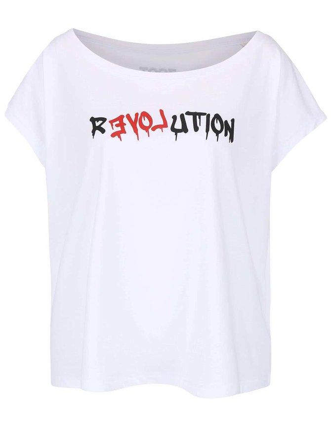 Tricou alb lejer din bunbac ZOOT Original Revolution pentru femei