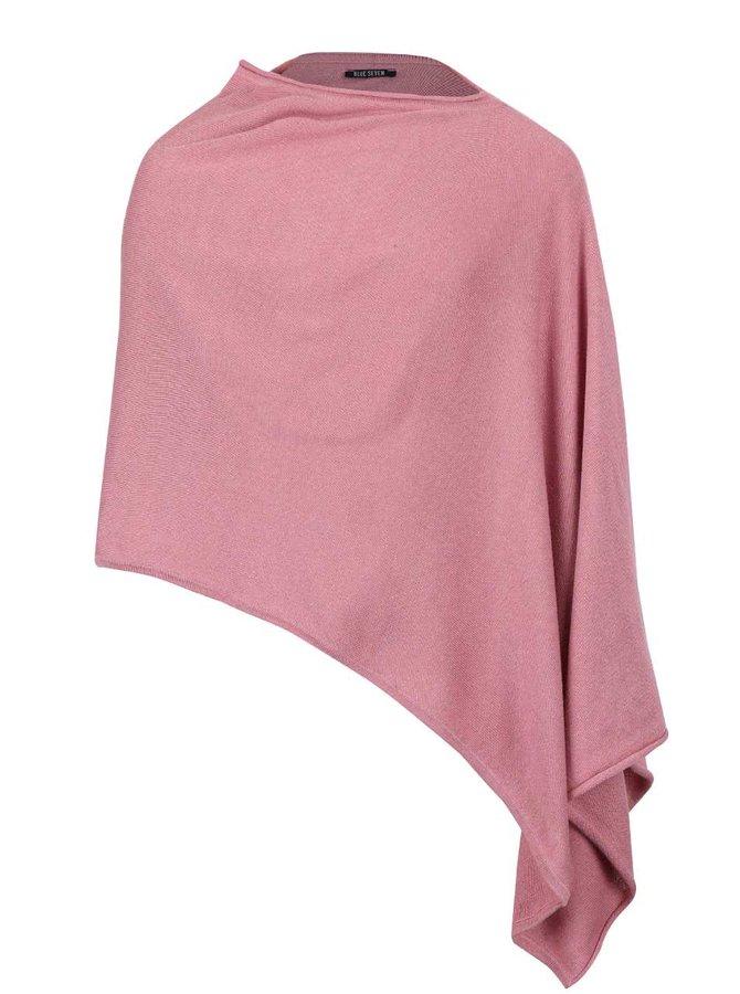 Poncho roz Blue Seven pentru fete