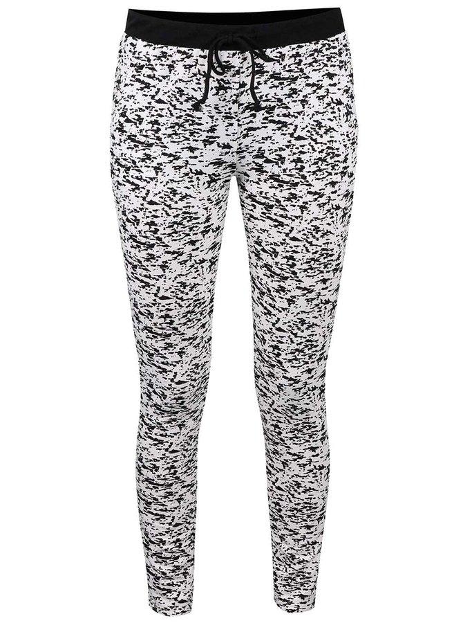 Černo-krémové vzorované teplákové kalhoty Haily´s Jada