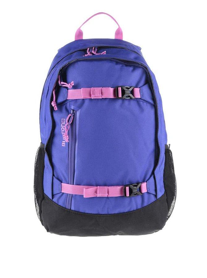 Rucsac negru cu albastru Burton Hiker cu detalii roz 20 l
