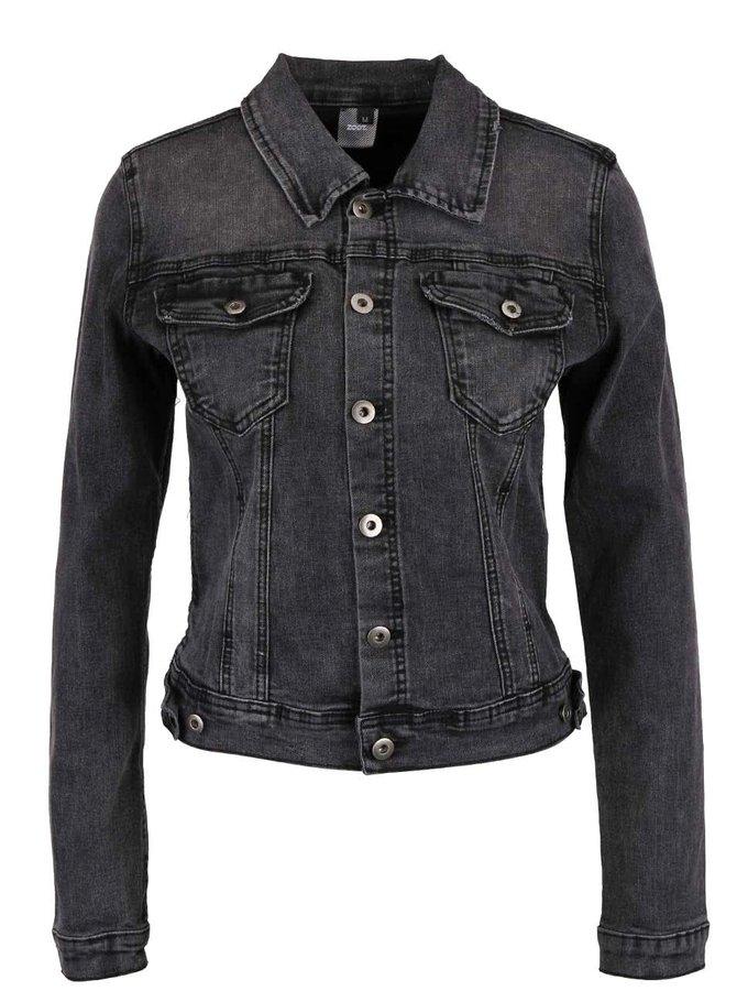 Tmavě šedá džínová bunda ZOOT Now