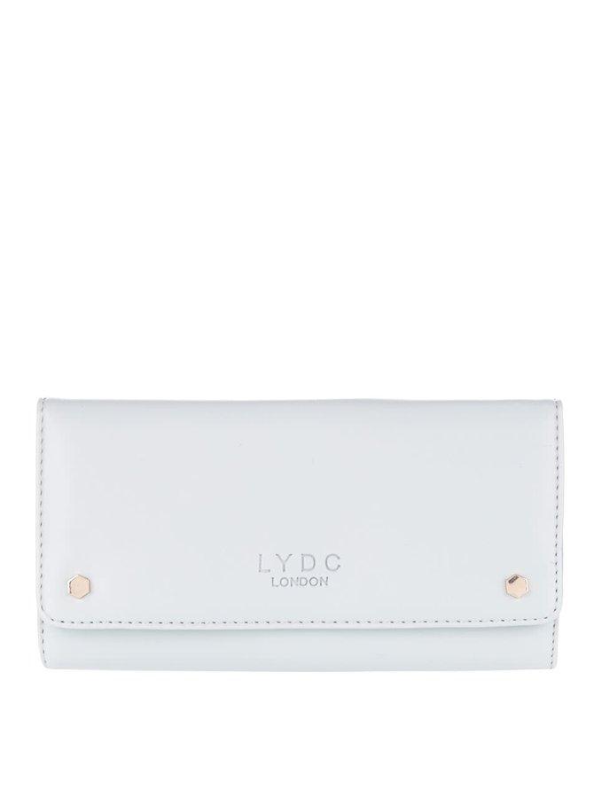 Oranžovo-sivá peňaženka LYDC