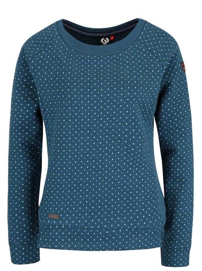 Bluză verde Ragwear Kind Dots cu buline