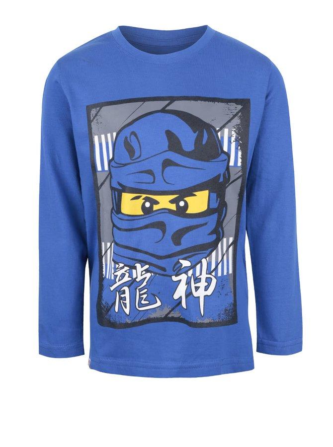 Bluză albastră din bumbac LEGO Wear M-line