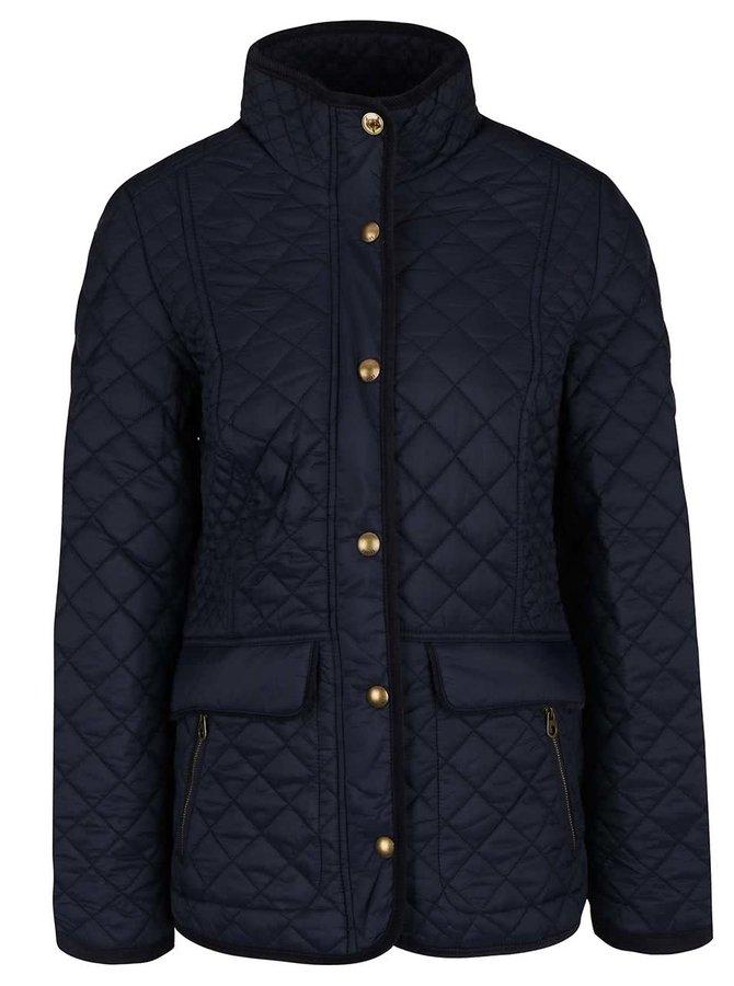 Tmavě modrá dámská prošívaná bunda Tom Joule Newdale