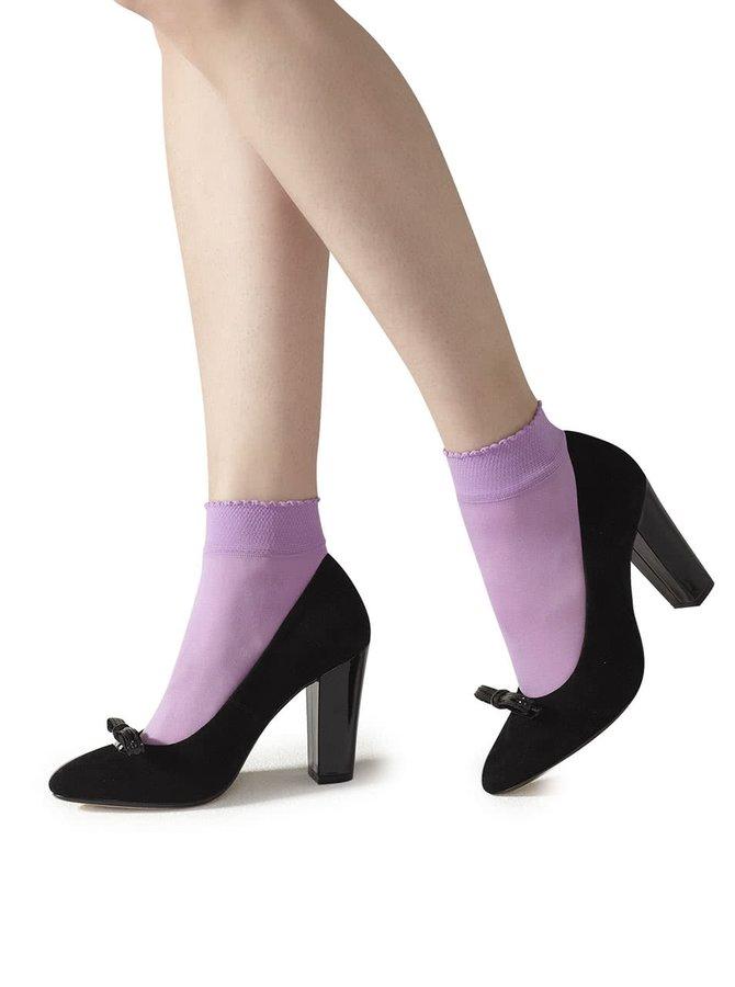 Fialové punčochové ponožky Gipsy