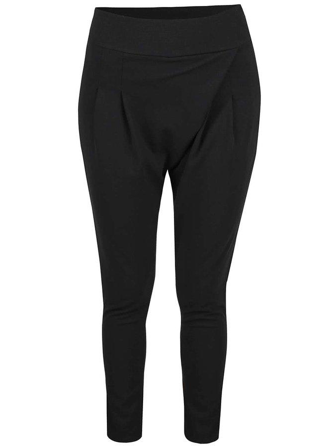 Čierne voľnejšie nohavice Haily's Rosy