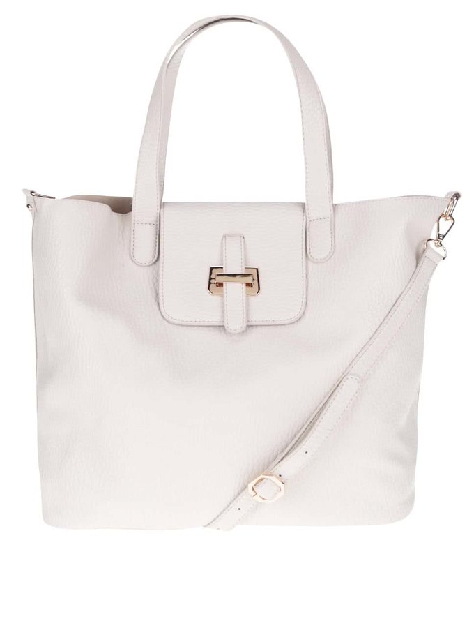 Krémová kabelka Miss Selfridge