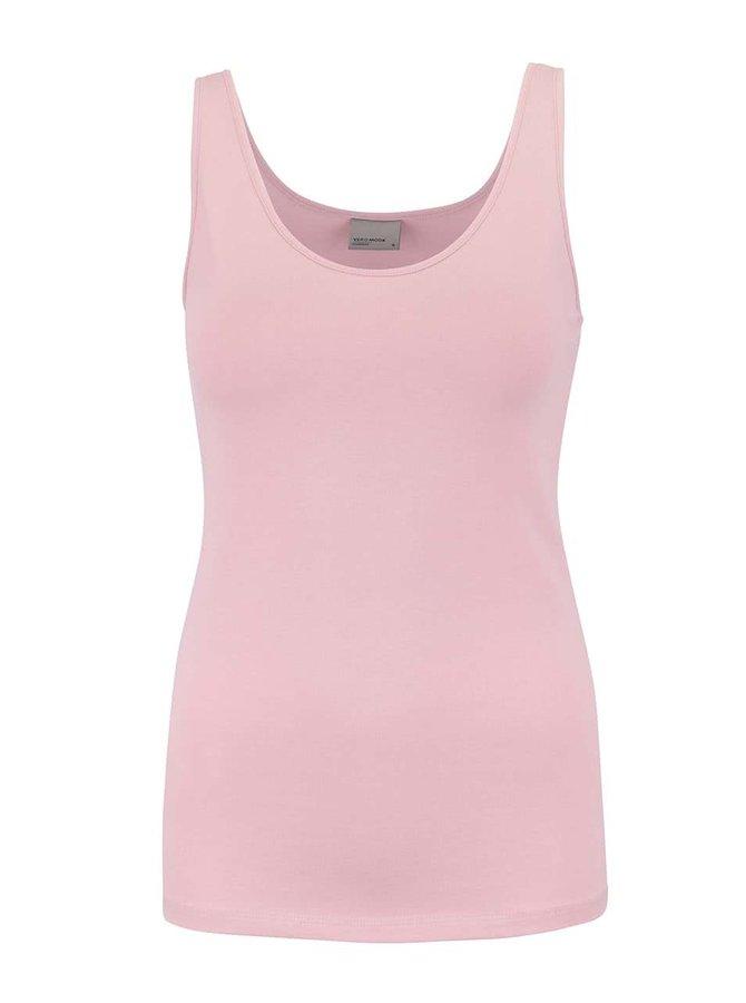 Světle růžové tílko Vero Moda Maxi My